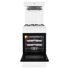 Beko KA52NEW Beko High-Level 50Cm Gas Cooker In White