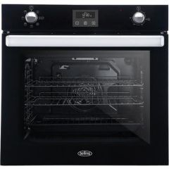 Belling BI602FPCTBLK Built In Electric Single Oven - Black - A Rated