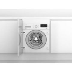 Blomberg LWI284410 8kg 1400 Spin Built In Washing Machine - White - A+++ Energy Rated