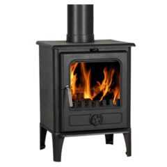 The Norvik 5 5Kw Multi-Fuel Stove