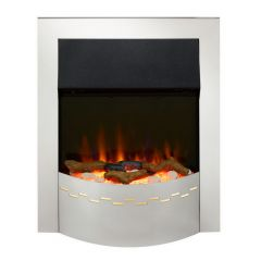 Dimplex ELL20CH Ellister Optiflame Inset Electric Fire In Chrome
