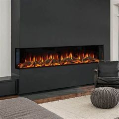 Evonic Fires Karlstad - 1500W Heat Output - Anti Reflective Front Glass
