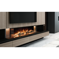 Evonic Fires LINNEA - 1500W Heat Output - Anti-Reflective Front Glass