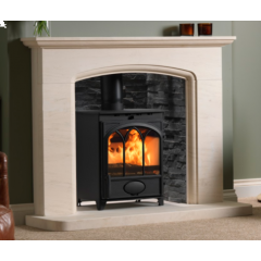 Fireline FT5W-3 V3 With Tracery Arch Door Multi-Fuel 5kw