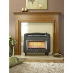 Flavel Strata Natural Gas Electric Top Control in Brown
