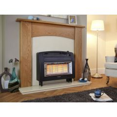 Flavel Strata Natural Gas Electric Top Control in Black
