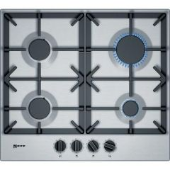 Neff T26DS49N0 Neff T26DS49N0 60cm Gas Hob - Stainless Steel