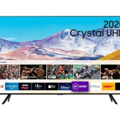 Samsung UE43TU8000KXXU 43` 4K UHD Smart TV - A Energy Rated
