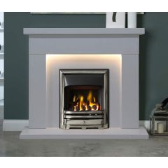 The Durrington Arctic White Suite with LED lights 48 Inch