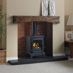 Valor Brunswick Gas Stove, Coal effect, Manual Control