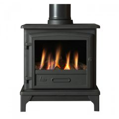 Valor Ridlington Conventional Flue Gas Stove - Log Effect - Remote Control
