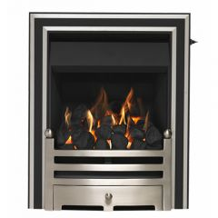 Valor 05945FS Allure Full Depth Gas Fire, Slide Control 4Kw Heat Output.