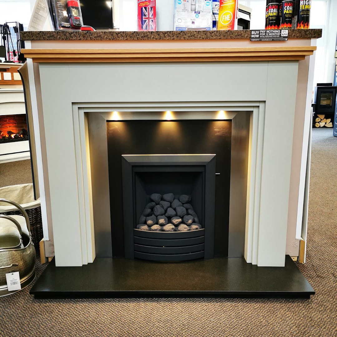 Furness Heating Components Limited Showroom Fireplace Display