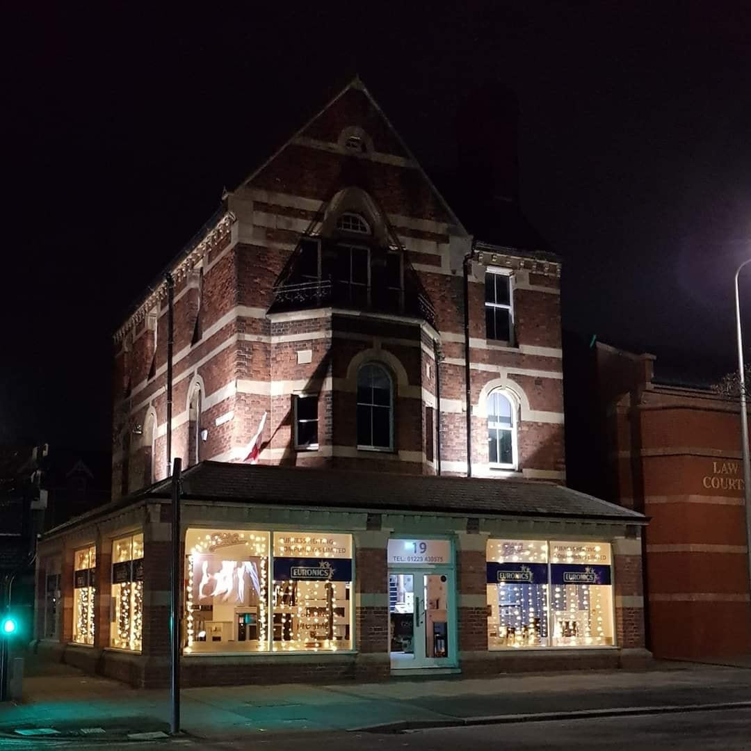 Furness Heating Components Limited Showroom by Night